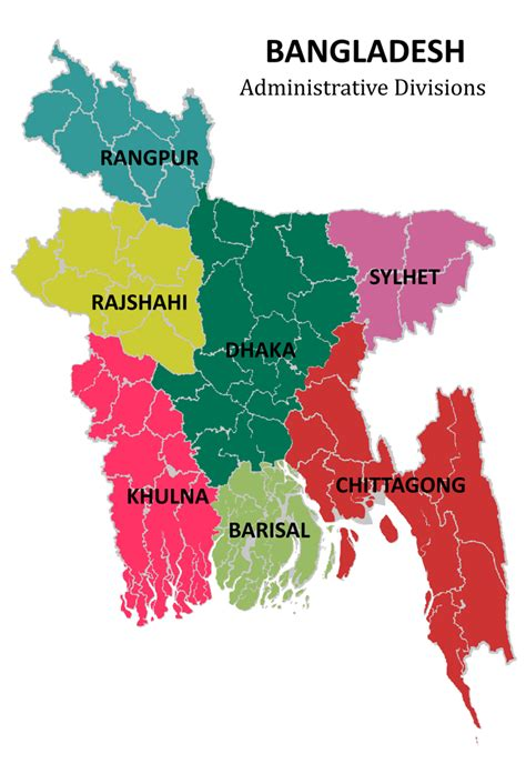 map of bangladesh green tours maps