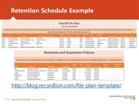 10 Needs To Succeed With Information Governance Sharepoint Sharepoint Governance Plan Template