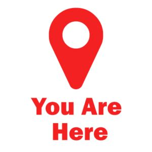 Here S How You where are you you are here web visions