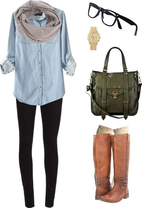 ways  dress   real hipster girl  fall
