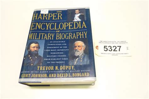 biography encyclopedia book one hardcover book the harper encyclopedia of military