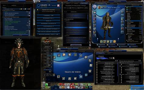 save ui layout lotro lotrointerface jrr azure glass jrr azure glass
