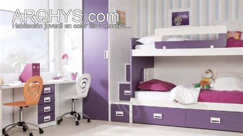 decoracion habitacion juvenil morada habitaci 243 n juvenil en color lila o morado youtube
