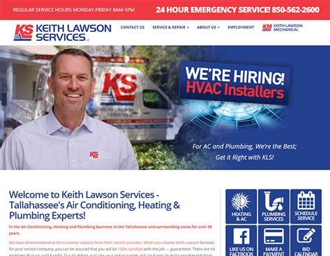 Keith Lawson Plumbing 100 plumbing websites for design inspiration