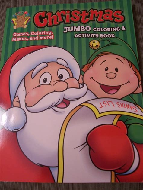 jumbo coloring activity book