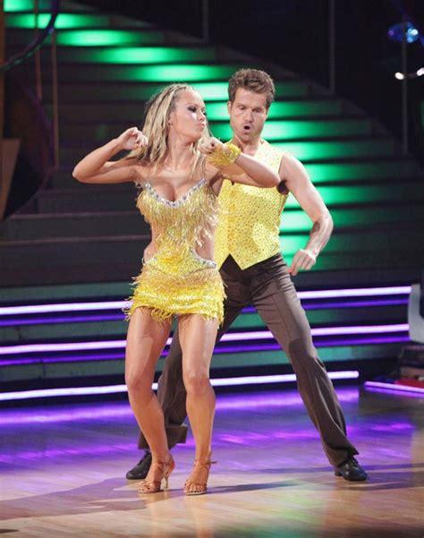 dwts  guilty pleasures week skimpy cut  beaded costumes dominated  dance floor