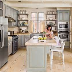 grey l shaped kitchen with island zessn kitchen pinterest 5 most popular kitchen layouts hgtv