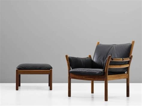 illum wikkelso solid rosewood lounge chair  ottoman chairs ikea chair cushions outdoor
