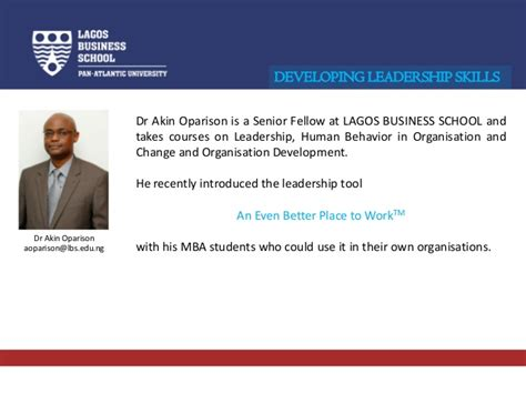 Mba In Lagos by Lagos Business School Experiencing Bp2w On Mba Programmes