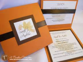 fall wedding invitation ideas ca featured diy wedding invitations by timeless