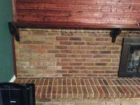 wilker do s diy stain fireplace brick
