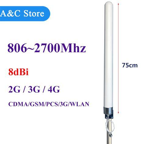 antenna high gain dbi  mhz omni fiberglass antenna  gsm cdma pcs  wlan