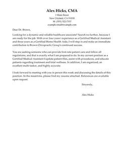 Exles Of Cover Letters For Healthcare by Best Healthcare Cover Letter Exles Livecareer