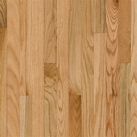 bruce plano oak country natural   thick     wide  varying length solid hardwood