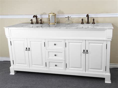 white bathroom vanities and sinks pleasurable inspiration bathroom vanities double sink 72