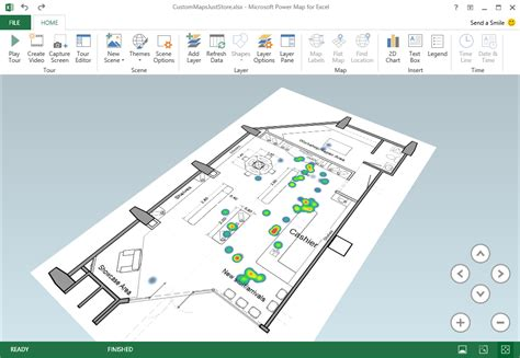 facility layout excel add in excel power map september update microsoft 365 blog
