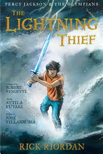 percy jackson and the lighting thief graphic novel adaptations percy jackson vs the