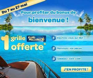 Grille D Euromillions by Fdj 1 Grille Millions Offerte En Bonus De Bienvenue