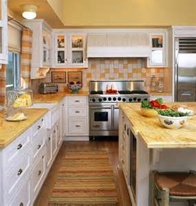 Yellow And White Kitchen Ideas by Decorating With Yellow Myhomeideas Com