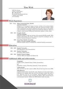 New Resume Format by Resume Format Curriculum Vitae Sles Pdf Template