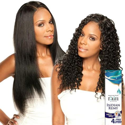 remy wet and wavey sew in hair moisture remy rain indian hair weave long deep 4 pcs