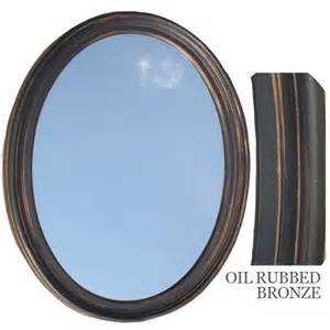 bronze mirror for bathroom bathroom mirror vanity oval framed wall mirror rubbed