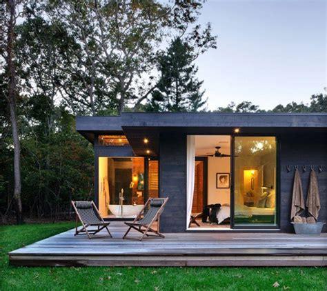 Small Kit Homes Usa 纽约休假别墅 卧室和浴室设计 别墅 太平洋家居网