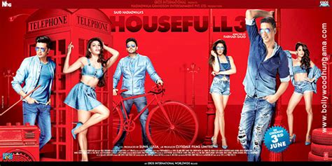 3 New Opening On Weekend by Housefull 3 Collects 26 77 Cr In Its Opening Weekend