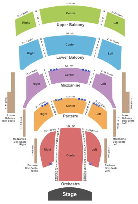 cannon center seating chart the nutcracker tickets seating chart cannon center for