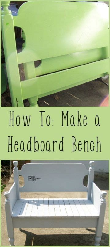 How To Make Your Own Headboard And Footboard by Best 25 Bed Frame Bench Ideas On Headboard