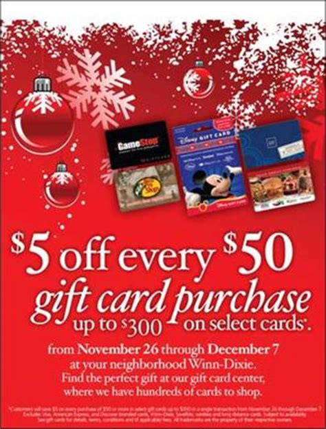 Winn Dixie Gift Cards - winn dixie black friday gift cards deal addictedtosaving com