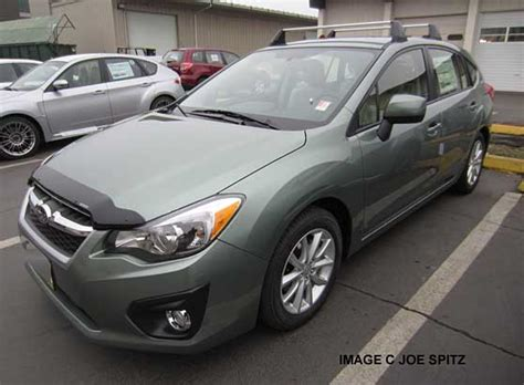 green subaru hatchback 2014 impreza subaru specs options dimensions and more