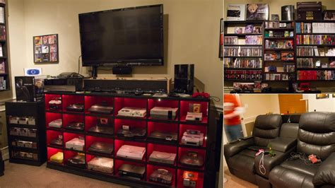 gaming stands bedroom a historically awesome gaming setup with every console in