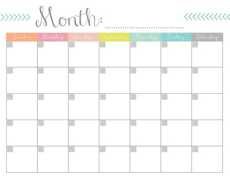 printable weekly calendar no dates monthly calendar free printable