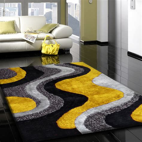 yellow and black area rugs black yellow and grey area rugs more exles of shabby chic furniture at http