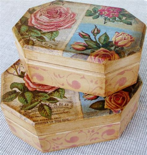 Decoupage House - box decoupage decoupage