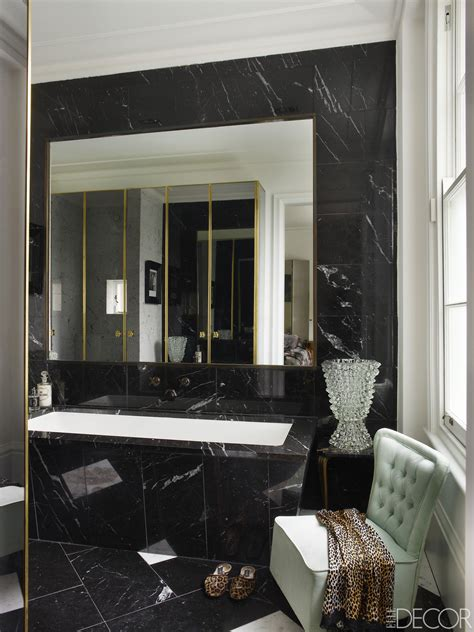 black and bathroom ideas black and white bathroom decor design ideas design 34