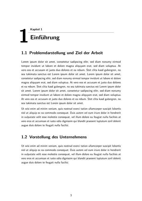 Word Vorlage Abschlussarbeit Vorlage F 252 R Bachelor Und Master Arbeit Mit Lyx Bzw Timos