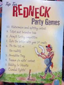 redneck party games humor pinterest redneck party