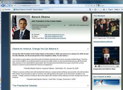 barack obama resume 2 0 get social in a economy pcworld
