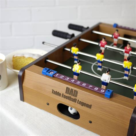 table top football personalised table top football by auntie mims