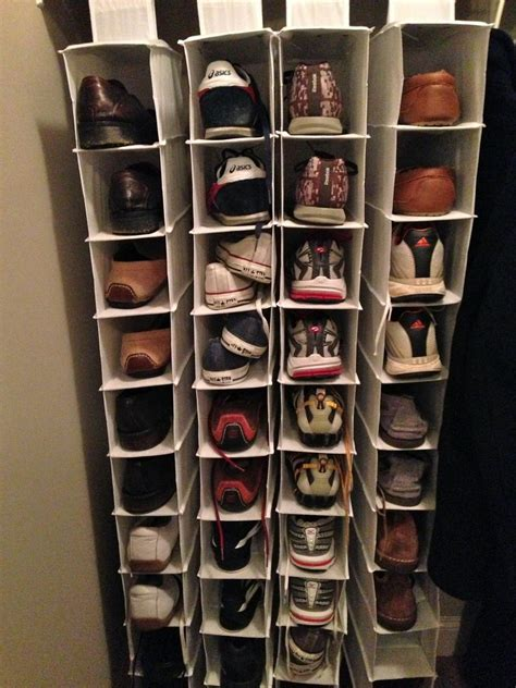 diy shoe closet adorable closet shoe organizer diy roselawnlutheran