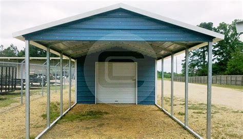 Metal Framed Car Covers by 18x31 Utility Carport A Frame Roof Style Carport Building