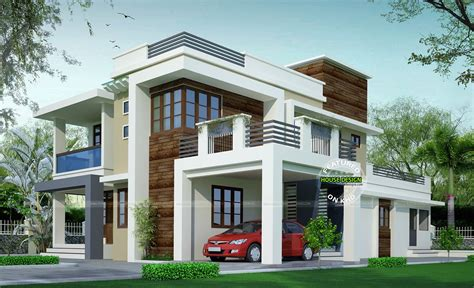 proposed contemporary model house design architecture