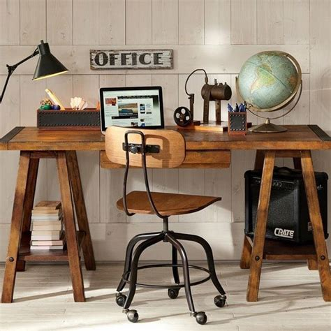 Design For Office Desk Ls Ideas Sawhorse Desk Design Ideas A Chic And Simple Desk Solution Rustic Industrial Home Office