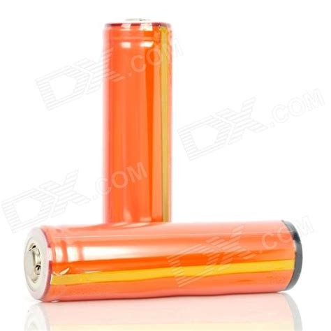 Baterai Sanyo 18650 2800mah Battery Cas 18650 2800mah Original 1 sanyo 18650 2800mah rechargeable battery orange 2 pack free shipping dealextreme