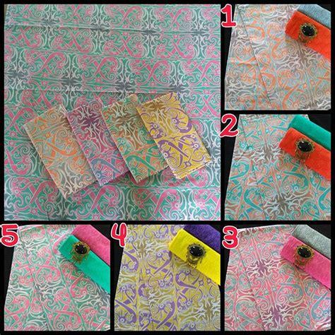 Batik Encim Soft Dan Kain Embos kain batik pekalongan batik soft gradasi kombinasi embos