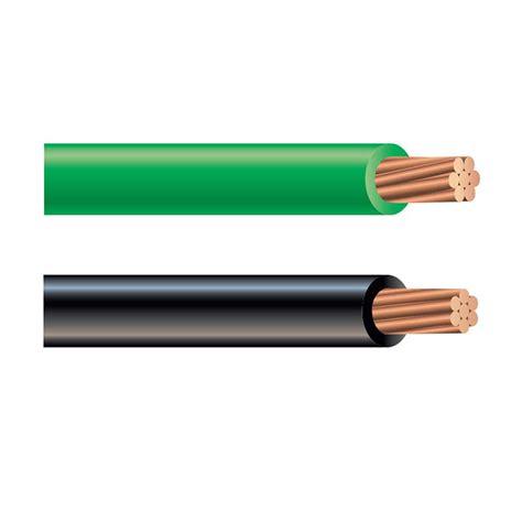 green black wire 6 awg copper wire rw90 solacity inc