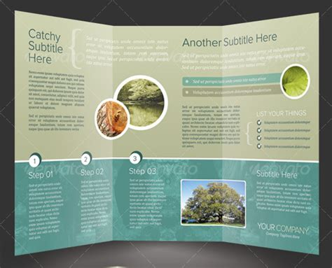 brochure design psd templates 50 business brochure templates template idesignow
