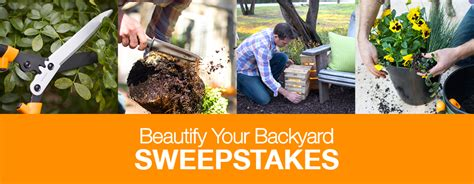 backyard sweepstakes fiskars beautify your backyard sweepstakes familysavings